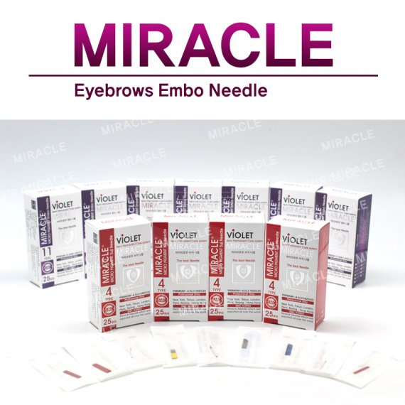 MIRACLE Embo 手工刀片