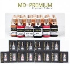 MD-PREMIUM Pigment Colors 機器色素